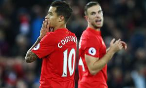 Филиппе Коутиньо и Джордан Хендерсон (c) LiverpoolFC.com