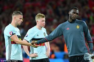 Кристиан Бентеке в сборной Бельгии (c) AFP / Getty