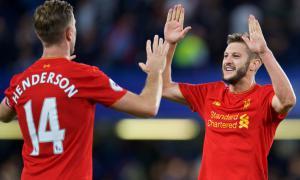Джордан Хендерсон и Адам Лаллана (c) LiverpoolFC.com