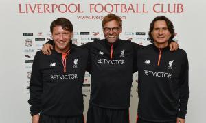 Петер Кравиц, Юрген Клопп и Желько Бувач (c) LiverpoolFC.com
