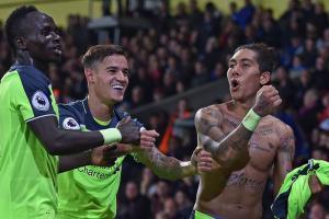 Садио Мане, Филиппе Коутиньо, Роберто Фирмино (c) LiverpoolFC.com