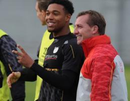 Джордон Айб и Брендан Роджерс (c) LiverpoolFC.com