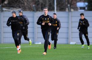Игроки «Ливерпуля» в Мелвуде (c) LiverpoolFC.com