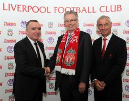 Фото Иан Эйра и Иана Раша (c) LiverpoolFC.com