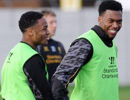 Дэниел Старридж и Рахим Стерлинг (c) LiverpoolFC.com