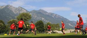 Тренировочный лагерь в Швейцарии