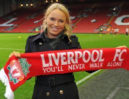 Фотография Каролин Возняцки (с) Liverpoolfc.com