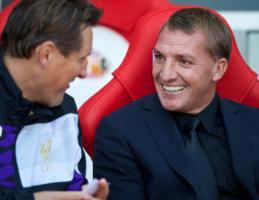 Колин Паско и Брендан Роджерс (c) LiverpoolFC.com