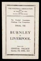 Билет на финальный матч Кубка Англии