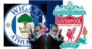 Уиган Атлетик - Ливерпуль. Двойные агенты