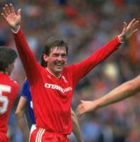 Кенни Далглиш, финал Кубка Англии 1986 г. против Эвертона.