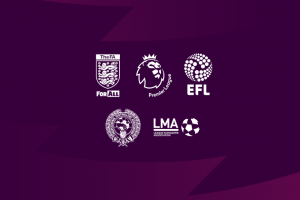 logo The FA, Premierleage, EFL etc