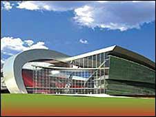 """Приблизительный вид нового стадиона """"Ливерпуля"""" (с) BBC Sport"""