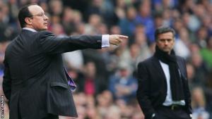 Фотография Бенитеса и Моуриньо (с) BBC Sports