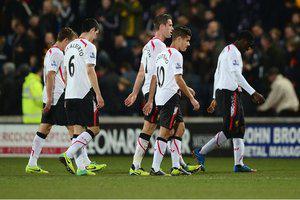 Футболисты «Ливерпуля» после матча с «Халлом»