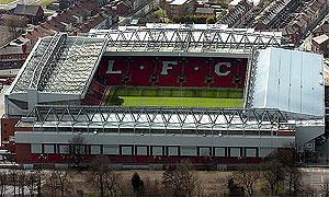 Фотография стадиона «Энфилд»