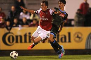 Армандо Анастасио в матче против «Арсенала» (c) Getty