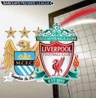 Логотипы «Манчестер Сити» и «Ливерпуля»