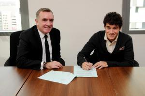 Фото Филиппе Коутиньо и Иана Эйра (c) Liverpoolfc.com