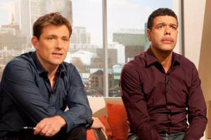 Бен Шепперд и Крис Камара (c) Sky Sports