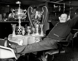 Боб Пэйсли с трофеями (c) Bob Farrell