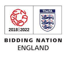 Логотип заявочной кампании Англия 2018/2022