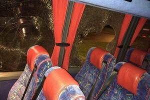 Автобус болельщиков «Халла» (c) Al_Pearson11@Twitter