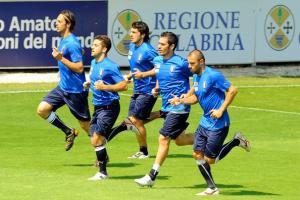Сборная Италии на тренировке (c) Zimbio