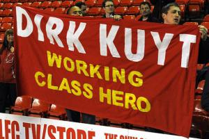 Баннер Dirk Kuyt Working Class Hero (c) Getty