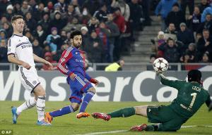 Мохамед Салах в матче против «Челси» (c) AP