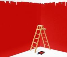 Красные стены