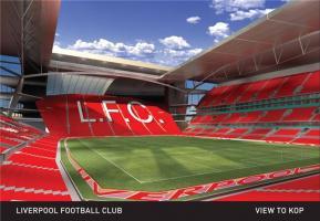 """Фото проекта нового стадиона """"Ливерпуля"""""""