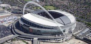Фотография стадиона «Уэмбли»