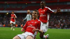 Молодёжь «Арсенала» забивает юниорам «Ливерпуля» (с) Setanta Sport