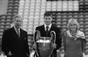Принц Чарльз, Стивен Джеррард и герцогиня Йоркская