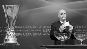 Процесс жеребьёвки (с) uefa.com