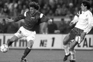 Давид Жинола в матче против сборной Болгарии (c) Football365.fr