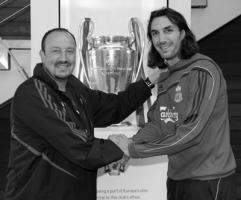 Фото Рафы Бенитеса (слева) и Сотириоса Кириакоса (с) liverpoolfc.tv
