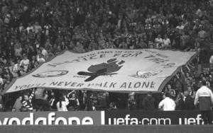 Баннер Justice For The 96 на Копе
