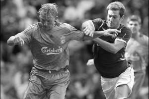 Дирк Кёйт в матче против «Рейнджерс» (c) BBC