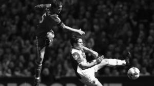 Даниэль Аггер забивает в ворота Копа (c) Setanta