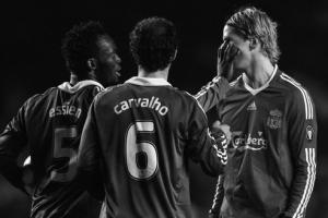 Фернандо Торрес в матче против «Челси» (c) Zimbio
