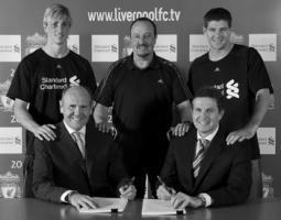 Банк Standard Cartered — новый титульный спонсор «Ливерпуля» (c) LiverpoolFC.tv