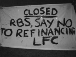 Баннер на двери одного из офисов RBS (c) WhoAteAllThePies
