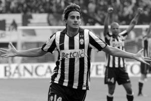 Альберто Аквилани забивает за «Ювентус» (c) Sky.it