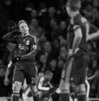 Стивен Джеррард и Лукас Лейва в матче с «Арсеналом» (c) LiverpoolFC.tv