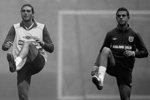 Энди Кэррол и Джордан Хендерсон в сборной Англии