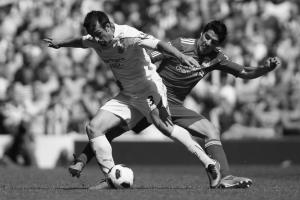 Хосе Энрике в матче против «Ливерпуля» (c) Getty