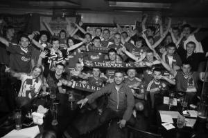 Болельщики «Ливерпуля» в Киеве