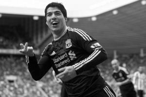 Луис Суарес празднует гол в ворота «Сандерленда» (c) LiverpoolFC.tv